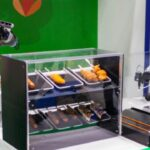 """Adopted for """"Tokyo Robot Collection"""", an advanced technology show casing business sponsored by the Tokyo Metropolitan Government Multiple cooking robots are now available at Takeshiba Summer Festival!"""